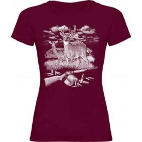 Camiseta ciervo E159 chica
