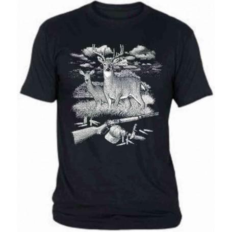 Camiseta ciervo E159 chico