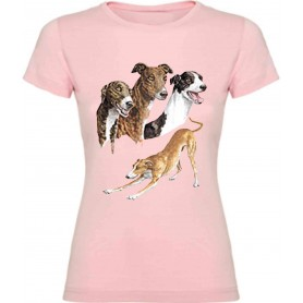 Camiseta Galgo chica / Vest Greyhound Girl