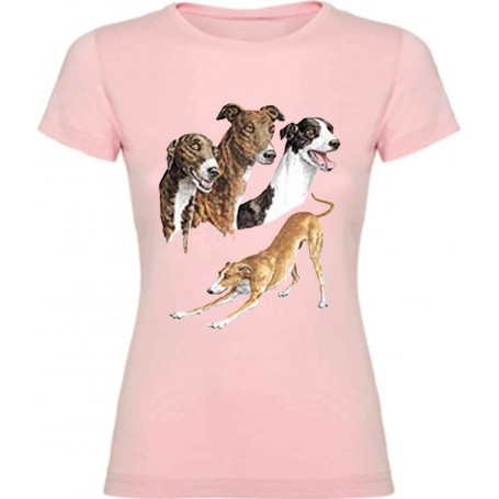 Camiseta Galgo chica / Vest Greyhound Girl