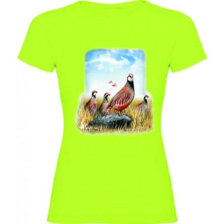 Camiseta perdiz chica