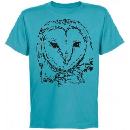 Camiseta lechuza 1 color chico