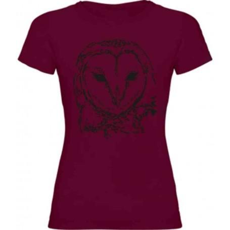 Camiseta lechuza 1 color chica