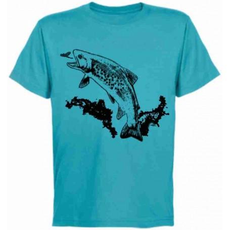 Camiseta trucha 1 color chico