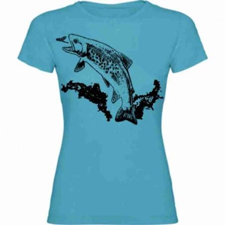 Camiseta trucha 1 color chica